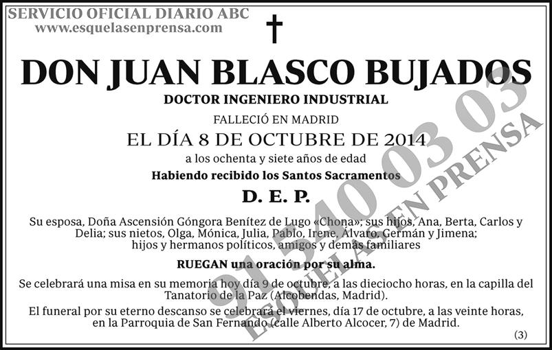 Juan Blasco Bujados